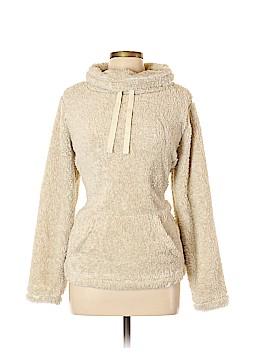 St. John's Bay Faux Fur Jacket Size L (Petite)