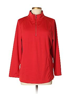 Susan Graver Track Jacket Size L