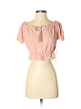 Lulu's Short Sleeve Blouse Size S