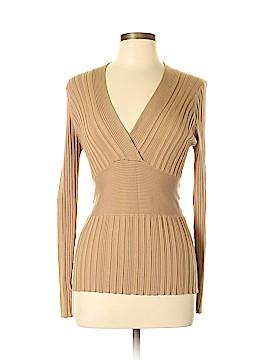 CAbi Long Sleeve Silk Top Size L