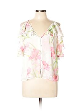 Yumi Kim Short Sleeve Blouse Size L