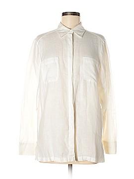 Amanda Smith Long Sleeve Button-Down Shirt Size M