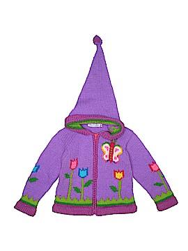 Little Cotton Dress Zip Up Hoodie Size 4