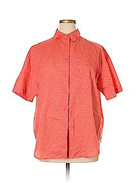 Venezia Sport Short Sleeve Button-Down Shirt Size 18 - 20 (Plus)