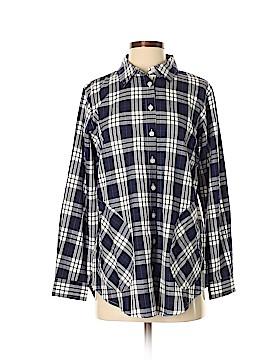 Joan Rivers Long Sleeve Button-Down Shirt Size XS
