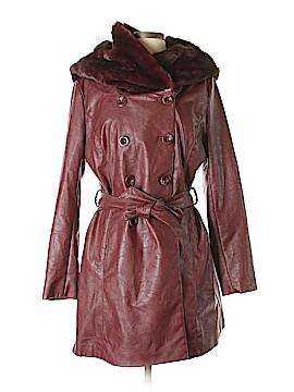 VERTIGO Faux Leather Jacket Size XL