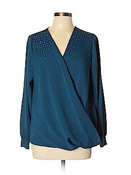 Alfani Long Sleeve Blouse Size 0X (Plus)