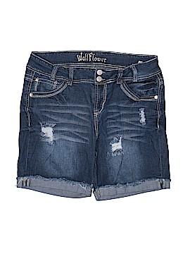 Wall Flower Denim Shorts Size 14