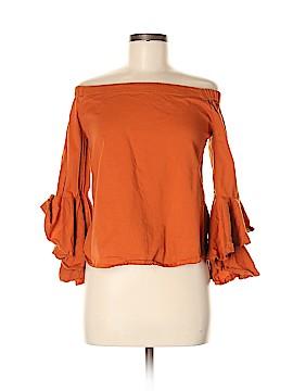 Fashion Web Long Sleeve Top Size M