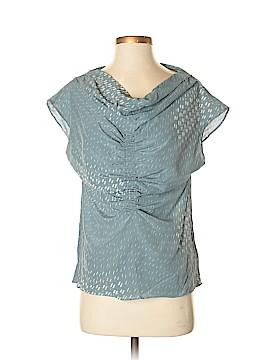 Lie Short Sleeve Silk Top Size 0