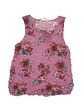 Hippie Rose Sleeveless Blouse Size S