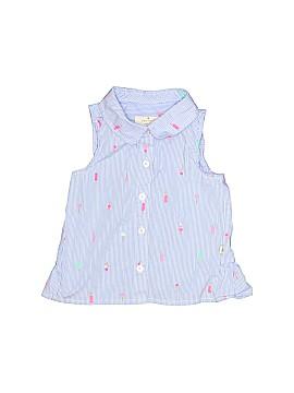 Kate Spade New York Sleeveless Button-Down Shirt Size 2