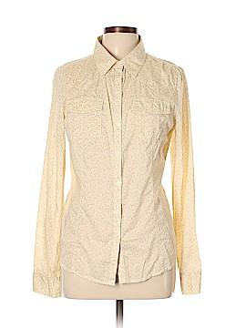 Rubbish Long Sleeve Button-Down Shirt Size L