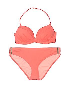 Victoria's Secret Pink Two Piece Swimsuit Size Sm (32C)