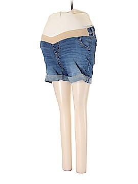 Indigo Blue Cargo Shorts Size S (Maternity)