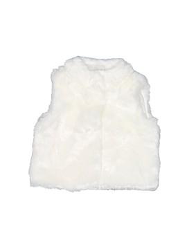 Carter's Faux Fur Vest Size 6 mo