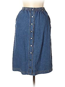 Liz Claiborne Denim Skirt Size L