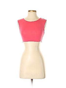 Topshop Sleeveless T-Shirt Size 2
