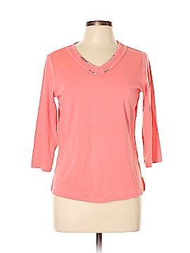Draper's & Damon's 3/4 Sleeve T-Shirt Size M