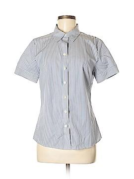 Banana Republic Short Sleeve Button-Down Shirt Size 8