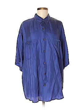 Fenn Wright Manson Short Sleeve Silk Top Size XL