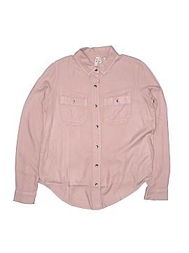Mudd Long Sleeve Button-Down Shirt Size XS
