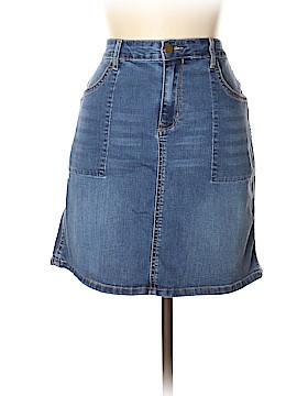 CALVIN KLEIN JEANS Denim Skirt 32 Waist