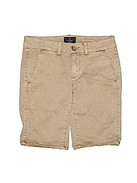 American Eagle Outfitters Khaki Shorts Size 0
