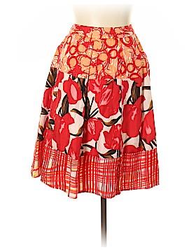 Peter Nygard Silk Skirt Size 8