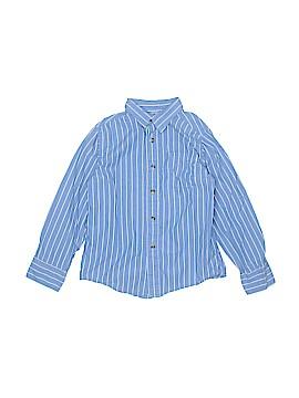 Ruff Hewn Long Sleeve Button-Down Shirt Size 7