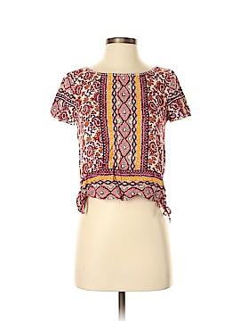 Hollister Short Sleeve Blouse Size XS