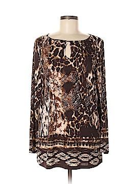 Susan Graver Long Sleeve Blouse Size M