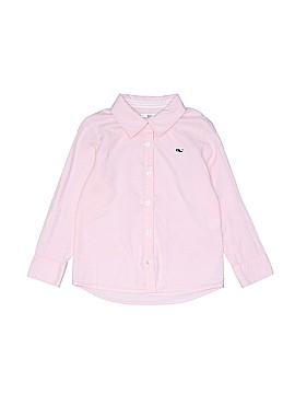 Vineyard Vines Long Sleeve Button-Down Shirt Size 5