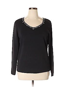 DressBarn Long Sleeve Top Size 22 (Plus)