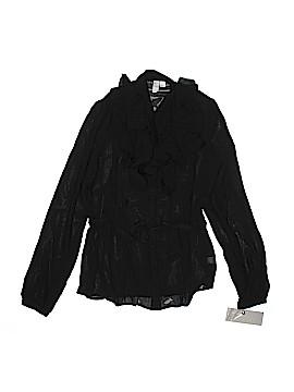 Go International Long Sleeve Blouse Size S