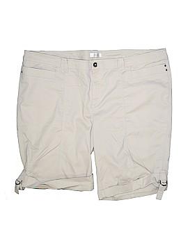 Cj Banks Khaki Shorts Size 24 (Plus)