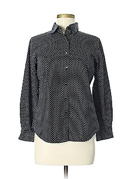 Foxcroft Long Sleeve Button-Down Shirt Size 6 (Petite)