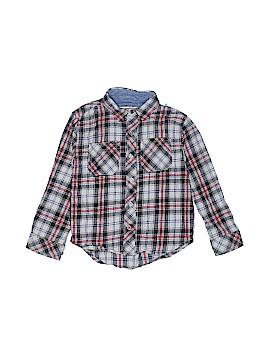 Pd&c Long Sleeve Button-Down Shirt Size 4
