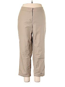 Dalia Collection Khakis Size 22 (Plus)