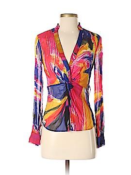 Diane von Furstenberg Sleeveless Silk Top Size 0