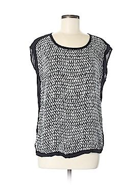Cynthia Rowley TJX Short Sleeve Blouse Size M