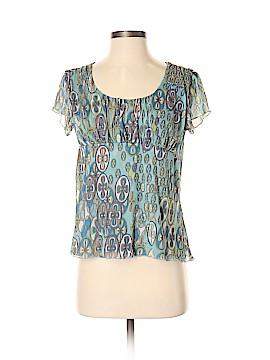 Cha Cha Vente Short Sleeve Blouse Size S