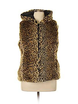 Kristen Blake Faux Fur Vest Size L