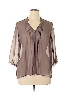 Frenchi 3/4 Sleeve Blouse Size L