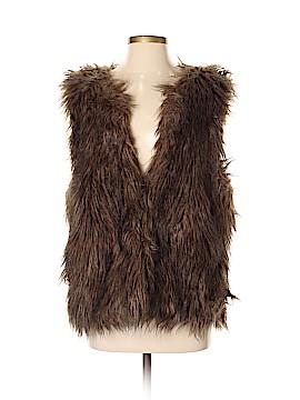Sanctuary Faux Fur Vest Size L