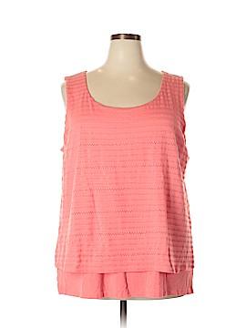 Calvin Klein Sleeveless Top Size 2X (Plus)