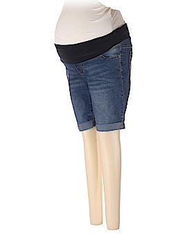 Planet Motherhood Denim Shorts Size S (Maternity)
