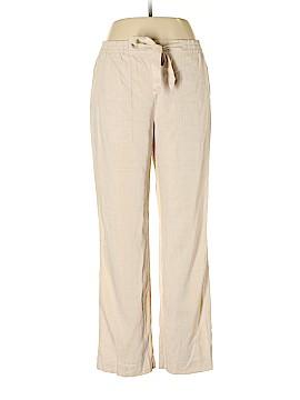 Rafaella Linen Pants Size M
