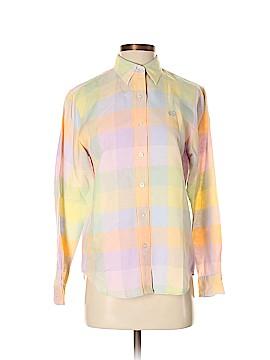 L-RL Lauren Active Ralph Lauren Long Sleeve Button-Down Shirt Size S
