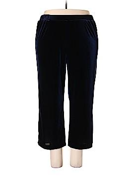 Coldwater Creek Velour Pants Size 2X (Plus)